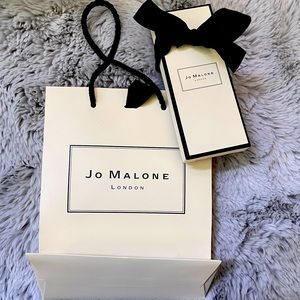 Jo Malone gift bag and box